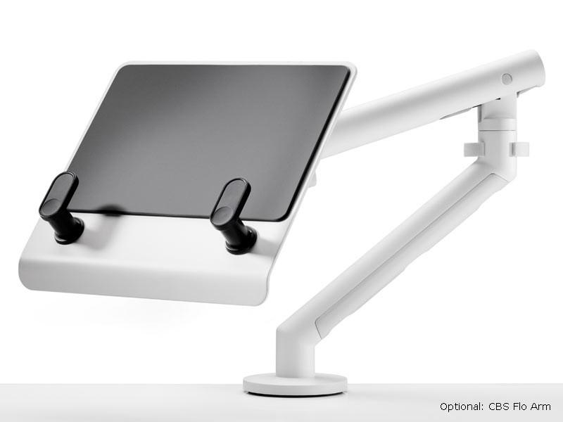 cbs laptop halter f r cbs arme silber. Black Bedroom Furniture Sets. Home Design Ideas