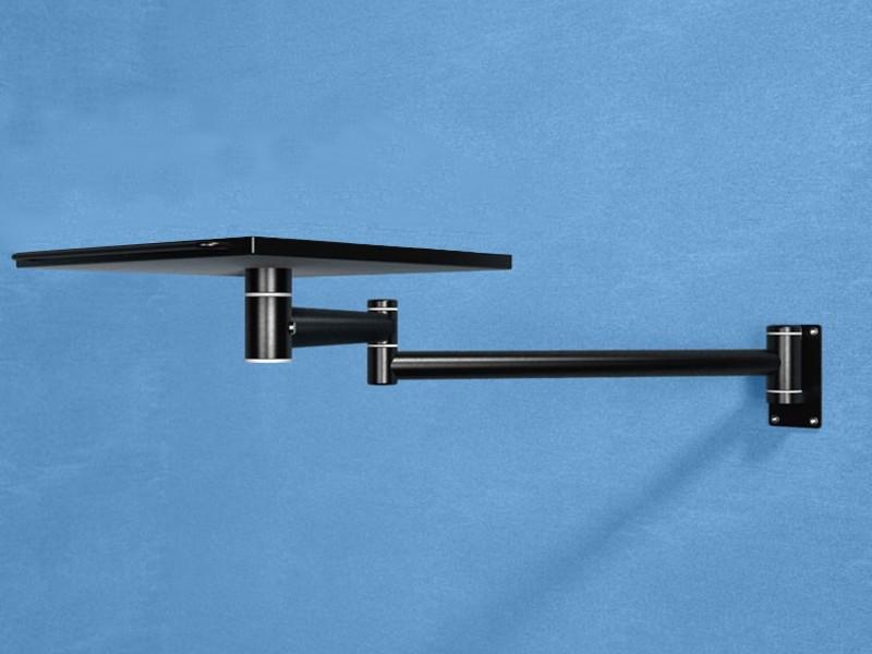 monlines notebook wandschwenkarm 2x600mm schwarz. Black Bedroom Furniture Sets. Home Design Ideas