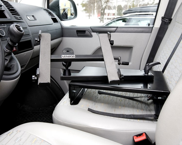 zirkona seatholder notebook halterung f r beifahrersitz. Black Bedroom Furniture Sets. Home Design Ideas