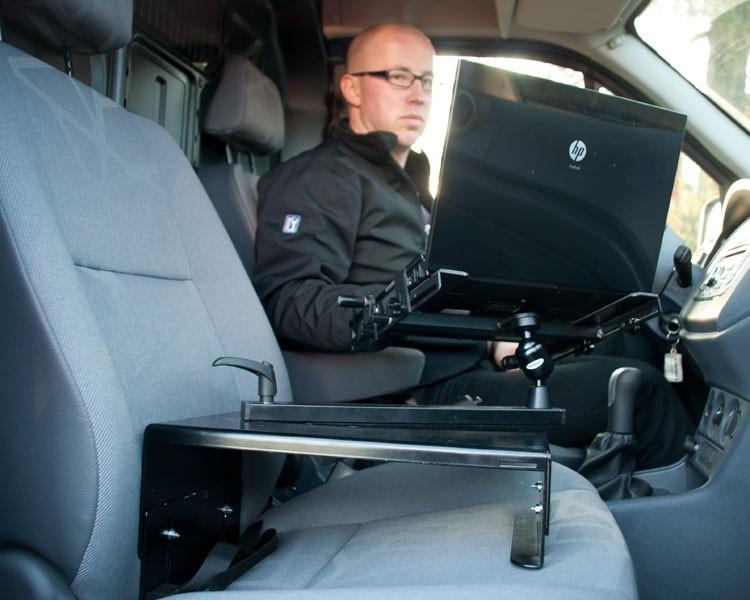 Zirkona seatholder notebook halterung f r beifahrersitz - Tablet wandhalterung selber bauen ...